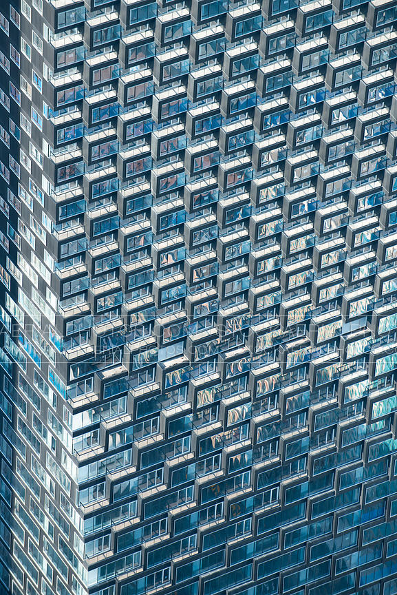 Telus Sky building abstract