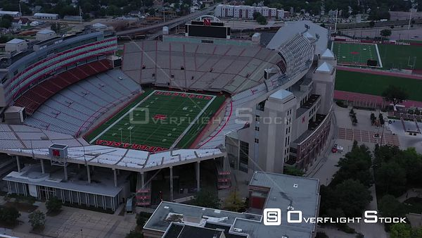Memorial Stadium and Tom Osborne Field, Lincoln, Nebraska, USA