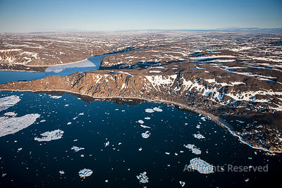 Arctic Southampton Island Granite Hills and Porsild Mountains Nunavut