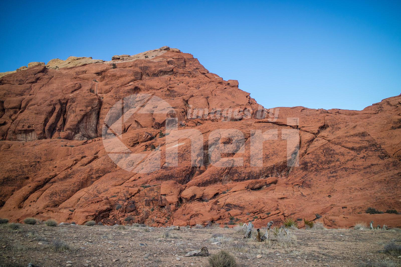 Calico Red Rocks in Red Rock Canyon National Conservation Area, Nevada