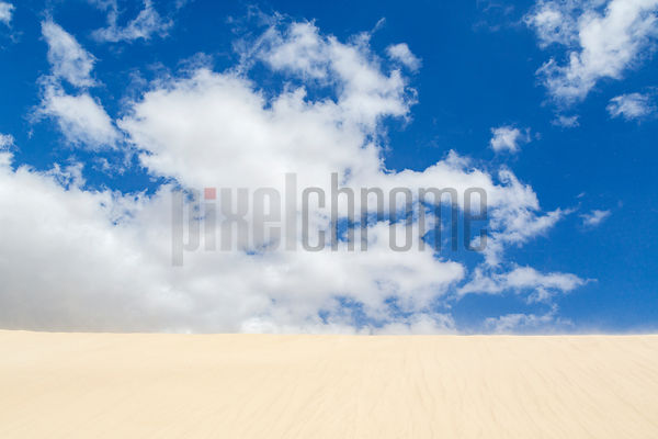 Sand Dune and Clouds at Noged