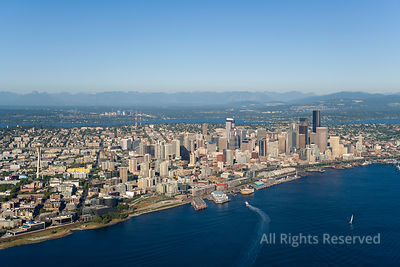 Downtown Seattle Washington USA