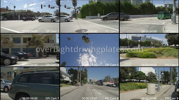 Upscale Commercial  Santa Monica California USA - Driving Plate Preview 2012