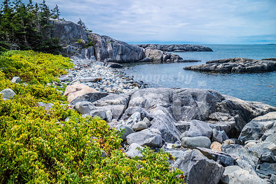 The lovely Duck Harbor Isle au Haut in Acadia National Park, Maine