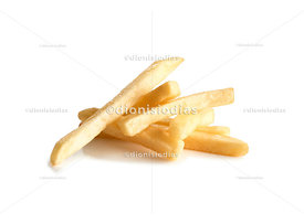 Small portion of potato chips