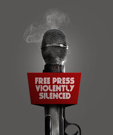 Free Press Violently Silenced.