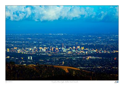 Adelaide from Mt Lofty lookout