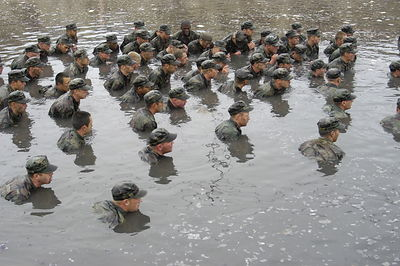 US Navy SEALs In Action
