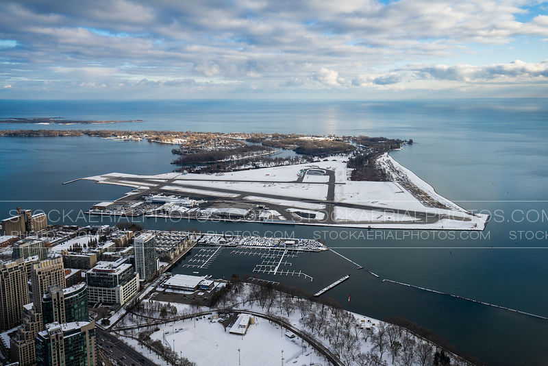 Billy Bishop Airport during Winter