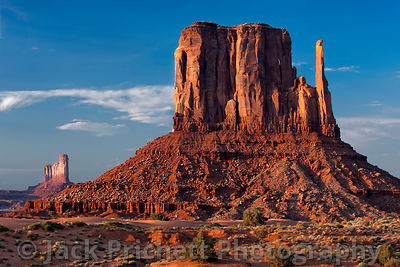 Monument Valley formation