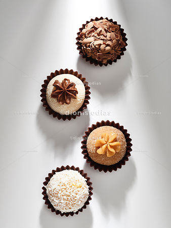Gourmet Brigadeiros in close