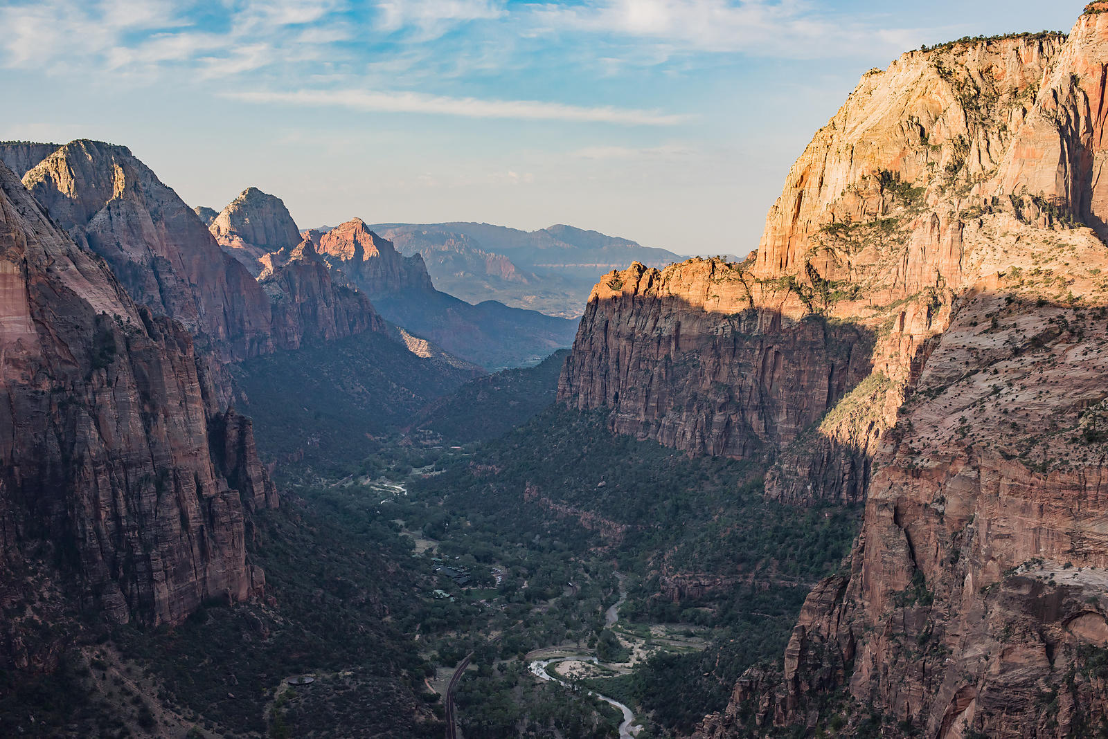 Zion Canyon - View From Angel's Landing