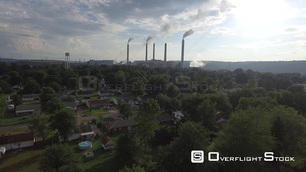 Valley Station Neighbourhood Louisville Kentucky Drone View