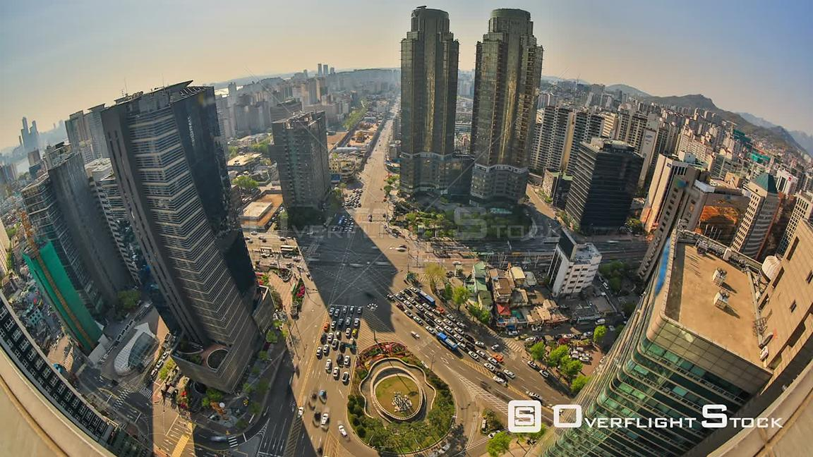 Time lapse of Seoul, Korea Cityscape