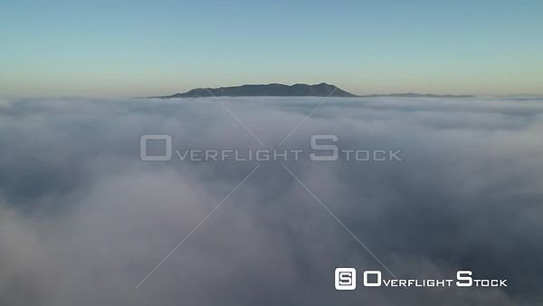 Mt Tam Early Morning Fog San Francisco Drone Video