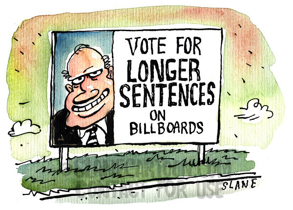 Longer Sentences on Billboards