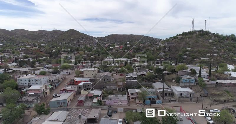 Drone Video of Nogales Sonora Mexico