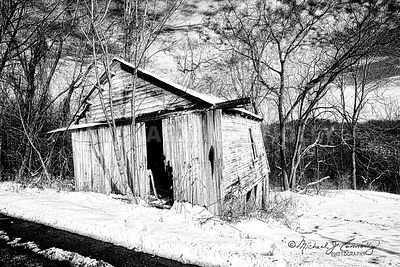 Old Shed In Settlers Cabin Park