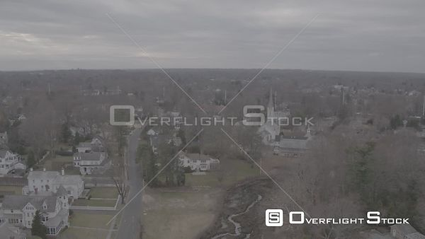Drone Video Village of Fairfield Connecticut - V-Log
