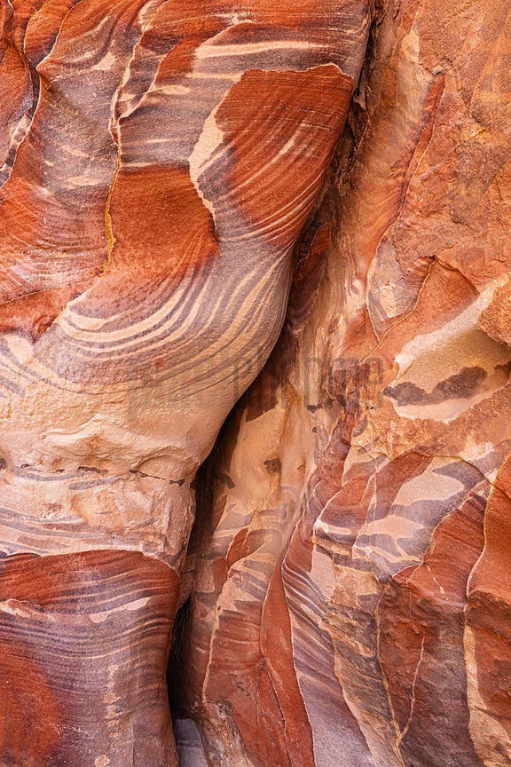 Sandstone Textures on the High Place of the Sacrifices Trail