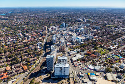 Hurstville Looking West