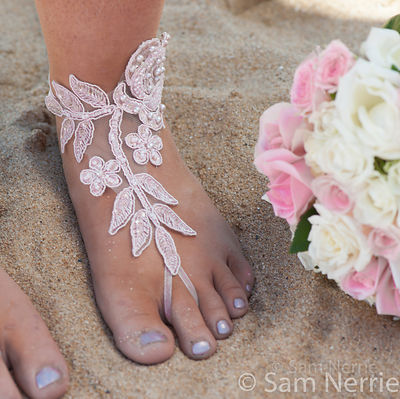 Bare Feet at the Wedding