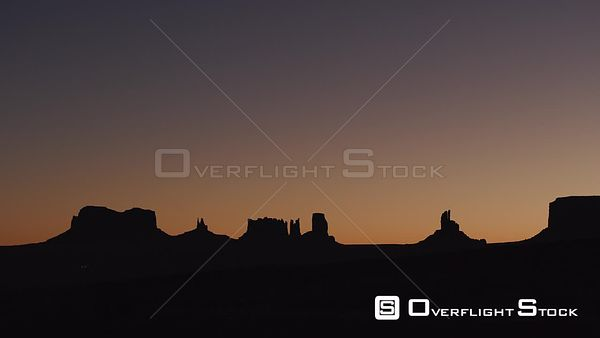 Monument Valley Arizona at Sunrise