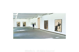 Previous Exhibition of over 50 works in Paris at Gallerie Karsten Greve