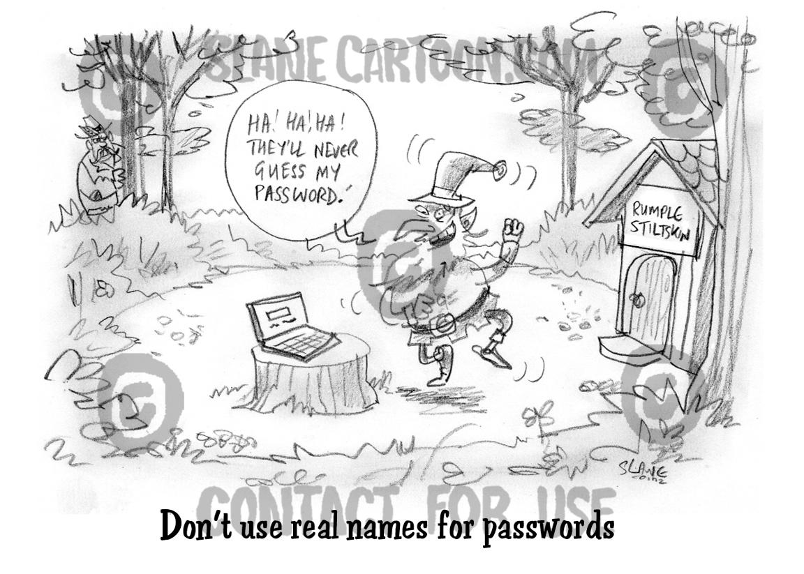 Rumplestiltskin Password